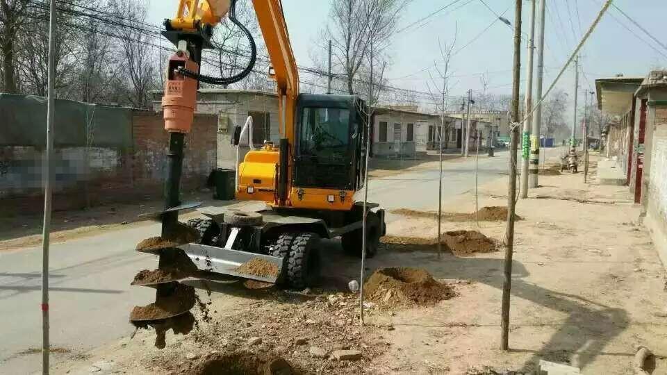挖树坑用什么工具